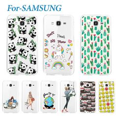 Fashion Young Soft Phone Case For Samsung Galaxy Grand Prime G530 G530h Lovely Silicone TPU Cover Cases For Galaxy G530