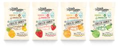 New #plastic #packaging for the Snack Organisation, a freeze-dried fruits range.