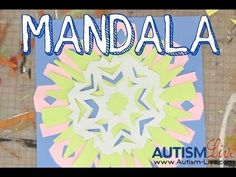 Smarty - May Mandala Paper Craft - Making a mandala is a fun and simple way to work with our kids on pattern making skills. Similar to making a snowflake in the winter, a mandala also helps with scissor skills.