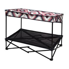 36 in. W x 24 in. D Medium Southwestern Blanket Instant Pet Shade with Mesh Bed