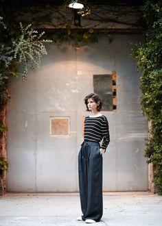 PREMIUM - Cienki ściągaczowy sweter