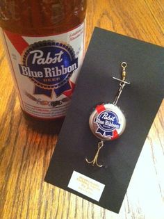 Hey, I found this really awesome Etsy listing at https://www.etsy.com/listing/170224242/pabst-blue-ribbon-fishing-lure