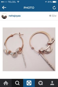Earrings de Neha
