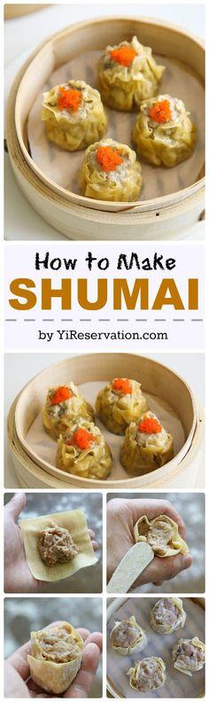{Recipe} Shumai /Siu Mai 燒賣