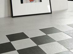 Lastre in gres, linea Concrete. design by DSG Ceramiche. www.dsgceramiche.it