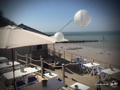 Bar & Restaurant, Isle of Wight | The Hut, Colwell Bay