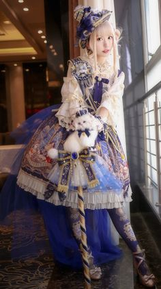 Honey Honey Cat's Astronomy Coord Harajuku Fashion, Kawaii Fashion, Cute Fashion, Estilo Lolita, Mode Lolita, Lolita Style, Mode Mori, Gothic Lolita Fashion, Gothic Fashion