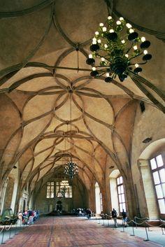 Vladislavsaal im Königspalast der Prager Burg