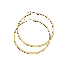Hoop earrings accomplish a truly stand out look whether you are going for casual-cool or edgy sensibilities.