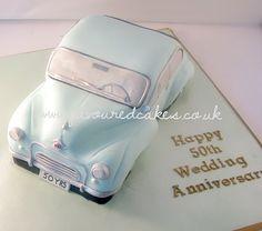 Morris Minor 1000 cake
