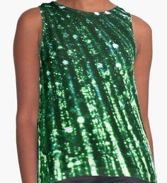 Triton´s Secrets - Shimmering Green  Sleeveless Top Mermaid Artwork, Mermaid Quotes, Mermaid Illustration, Watercolor Mermaid, Mermaid Tale, Merman, Classic T Shirts, Girly, Fantasy