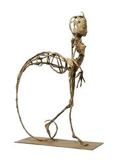 Jeanne Bouchart - Maliit - Bronze - unique piece - 2012 - h: 65 cm
