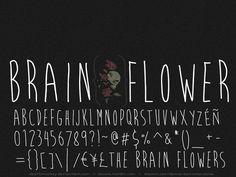 Brain Flower Font | dafont.com