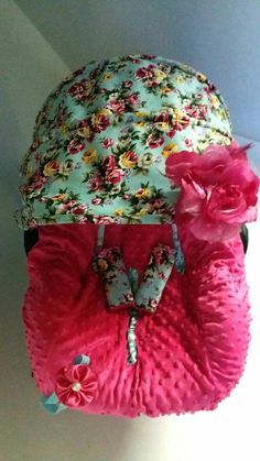 Baby Car Seat Cover Canopy Infant Car Seat Cover by BabyIsland