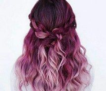 Inspiring image beautiful, braid, colored hair, cute, dyed hair #4788693 by loren@ - Resolution 592x595px - Find the image to your taste