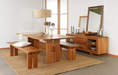 wooden dinning table designs - Google Search