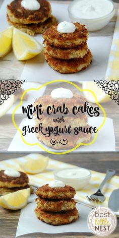 Mini Crab Cakes with