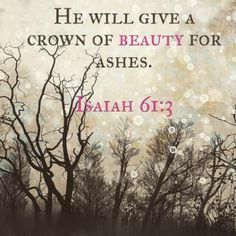 Bible Verse l Scripture l Isaiah 61:3