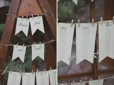 Table seating chart » A creative Sydney Polo Club wedding » Willow & Co. Blue Mountains Photographers http://willowand.co