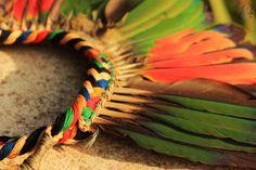 LOOK MODE Rubambelle : Un headband pas comme les autres > Coiffe Indienne Amazonienne