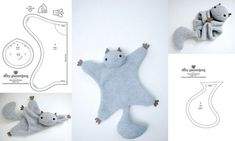 Baby Sewing Projects, Sewing Tutorials, Sewing Crafts, Plushie Patterns, Animal Sewing Patterns, Sewing Stuffed Animals, Stuffed Animal Patterns, Felt Diy, Felt Crafts