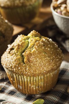 Muffin al Pistacchio della Nonna
