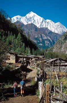 Marsyangdi Valley - Annapurna-East, Nepal