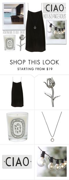 """Note #136"" by onedirection-37-p ❤ liked on Polyvore featuring Waterford, Diptyque, Pilgrim, Rosanna and Crate and Barrel"