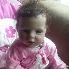 Reborn baby doll. She is about the cutest th ing I've ever seen! I want her so bad.