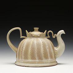 fun Pete Scherzer teapot