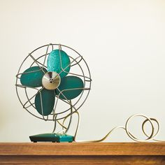 Idea to paint the metal fan I have