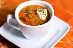 Spicy Turkish Red Lentil Soup - (1/11) very good soup.