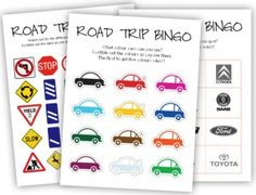 Three new free and fun MollyMoo Printables to make the next car journey a little more enjoyable for 'little einstein' in the booster seat :)A version for smallies  Spot the different coloured cars. First to get five wins. download here    For the next generation of graphic designers!!  Spot the different car logos. First to get five wins. download here  (Molly loves finding 'the same logo as…' mommy's car, daddy's car etc)    For the slightly older backseat 'driver' download here  Search for…