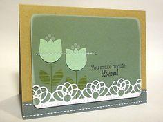 Tulip Blossoms Card