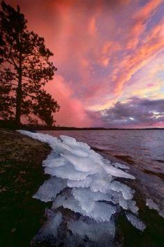 Jim Brandenburg photo - Lake Superior Minnesota