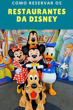 Como reservar os restaurantes da Disney