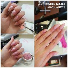 Pearl Nails, Pink, Pearls, Cover, Beads, Blankets, Pearl, Rose, Gemstones