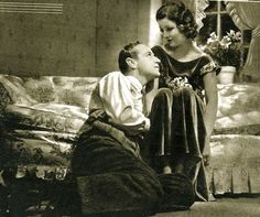 """lesliehowardforever: """" Leslie Howard and Myrna Loy, The Animal Kingdom """" Old Hollywood Movies, Old Hollywood Glamour, Golden Age Of Hollywood, Classic Hollywood, In Hollywood, I Look To You, Leslie Howard, Myrna Loy, Guys Be Like"""