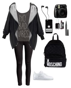 """Fantastic ✨"" by prosvetovajane ❤ liked on Polyvore featuring Billabong, NIKE, Moschino, Skullcandy, Givenchy, Essie and Marc Jacobs"