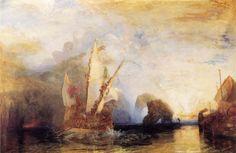 Ulysses Deriding Polyphemus by Turner.