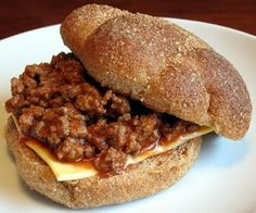 Chicken Gumbo Sloppy Joes. I add Worcestershire sauce with these other ingredients. My mom made these when I was little.