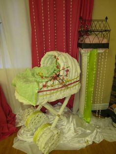 diaper carriage for a baby shower!