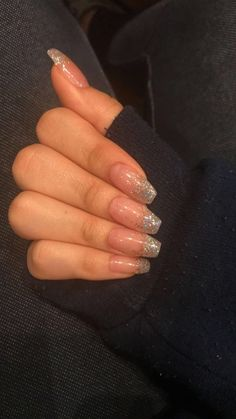Most stunning coffin acrylic nails designs that you must try in the fall and winter - Acryl Nägel Sarg - Nail Art Designs, Acrylic Nail Designs, Nails Design, Clear Nail Designs, Cute Nails, Pretty Nails, Gorgeous Nails, Hair And Nails, My Nails