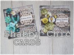 Shabby Chic Vintage Card Tutorial - Live Show