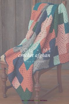 This crochet afghan is like a puzzle. Reminds me of tetris!