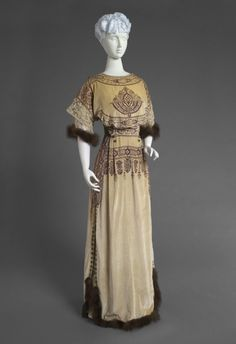 Dress Callot Soeurs, 1910 The Philadelphia Museum of Art