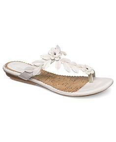 Hush Puppies Women's Shoes, Corsica Flat Thong Sandals - Comfort - Shoes - Macy's