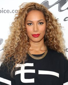 Leona Lewis promoting her new album. Makeup by Rebecca Restrepo.