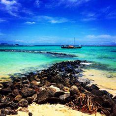 Take Me Back: Turtle Ponds in Waimanalo on the island of Oahu