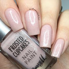 Strawberries & Cream from Barry M's Frosted Cupcake, Spring 17, collection. By @thepolishlist
